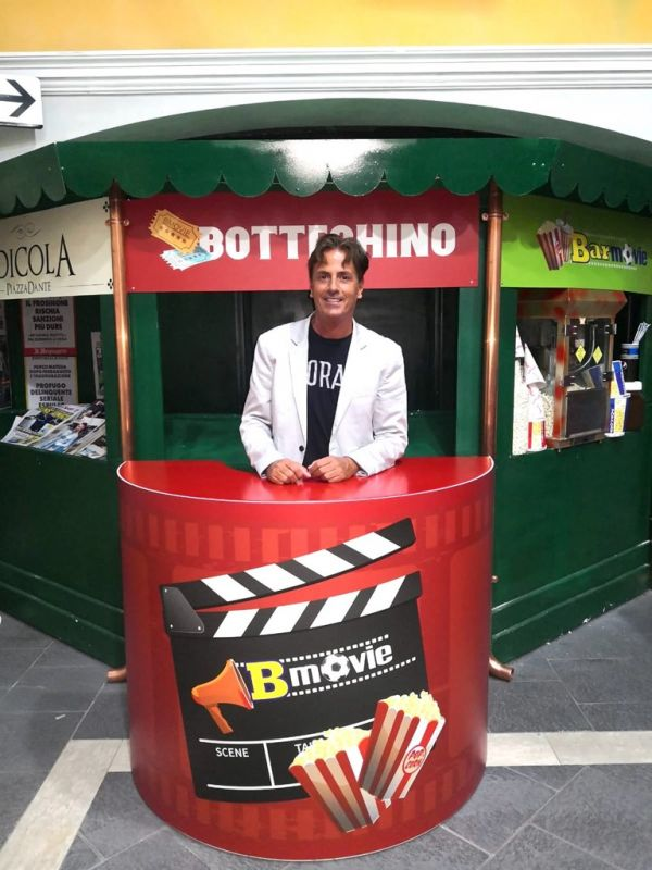Mauro D'Agostini negli studi di B-Movie