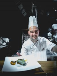 Chef Andrea Impero, con sacrificio fino in vetta