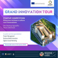 Lazio, Grand Innovation Tour: occasione per giovani e start up